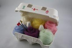 Needle felting kit for beginner Make your own felt by HoneyCanada, $18.00