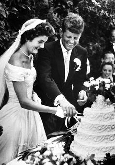 Jacqueline Bouvier was first introduced to John F. Kennedy in May of 1951 at a dinner.The two began dating sporadically.The couple were married in 1953.On January 20, 1961,JFK took the oath of office to become the nation's 35th president. At age 31, Jacqueline Kennedy was the first lady.On November 22, 1963, President and Mrs. Kennedy were in Dallas, Texas. As their car drove slowly past cheering crowds, shots rang out. JFK was killed and Jacqueline Kennedy became a widow at age 34.