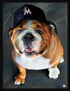 Miami Marlins bulldog (Target)