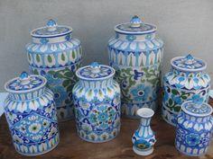 Blue Pottery Of Jaipur, India