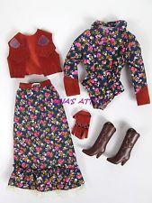 Vtg 1981 Designer Fashions WESTWARD HO #3578 Barbie Doll Western Outfit