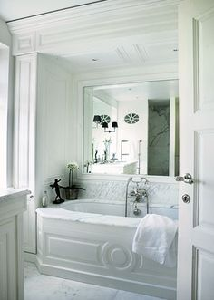 Nice detail on the tub.   Good thinking.... The tub isn't in front of an open window! Lol!