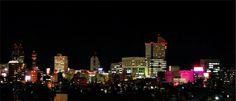 静岡市の夜景