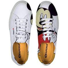 Disney Mickey Mouse Superga shoes