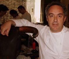 Ferran Adrià at El Bulli 2008. Photo by Gerry Dawes©2013. Contact gerrydawes@aol.com for publication rights.
