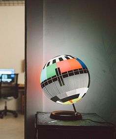 simon forgacs' MONO LAMP captures iconic TV test cards