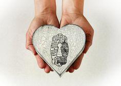 Treasury Love Box  Dimensions  5 / 5 / 2 by MyHouseOfDreams, $17.00
