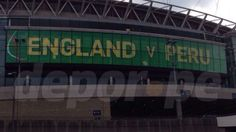 Selección Peruana: estadio de Wembley anuncia amistoso Perú vs. Inglaterra