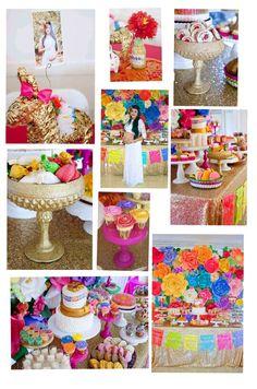 Sweet Table From A Cactus Fiesta Baby Shower On Karau0027s Party Ideas    KarasPartyIdeas.com (29)   Mexican Fiesta / Cinco De Mayo Party Ideas    Pinterest ...