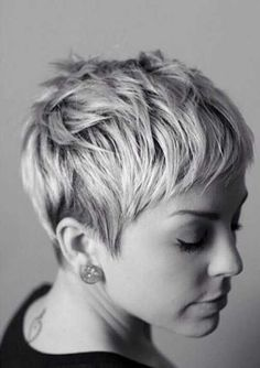 Idée Tendance Coupe & Coiffure Femme 2017/ 2018 : 15 Best Messy Pixie Hairstyles - The Hairstyler