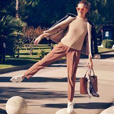 #StyleBuBru wearing #Northweek #Customizable #Circle #Polarized #Sunglasses #Barcelona