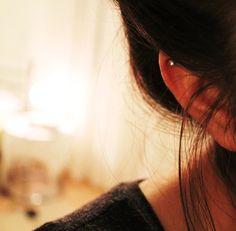 Helix ear pierce