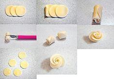 Cara membuat mawar sederhana