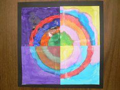 Mrs. T's First Grade Class: The Dot/Kandinsky Class Project
