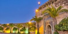 Sunset on Imperial City door at Meknes, Morocco Casablanca, Life Pictures, Terra, Jazz, Photos, Sunset, Mansions, House Styles, City