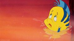 Lamest of the lame friends, Flounder in The Little Mermaid. | 13 Disney Villains That We've Ignored For Far Too Long