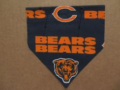 Chicago Bears Bandana by SCCDogApparel on Etsy, $6.00