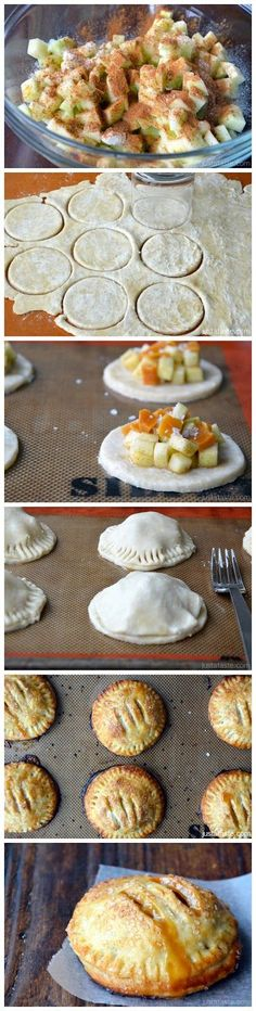 Salted Caramel Apple Hand Pies - Incredibly delicious! Click through for recipe!