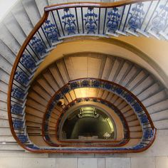 Somerset House stairs (looking down