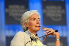 Christine Lagarde, Managing Director of the International Monetary Fund, a key figure in sovereign debt restructuring. (Source: World Economic Forum.)