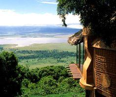 Ngorongoro Crater Lodge   Ngorongoro, Tanzania