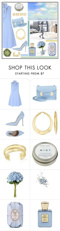 """Blue Skies Around"" by misskarolina ❤ liked on Polyvore featuring Glamorous, Sophie Hulme, Norma J.Baker, Luv Aj, Ross-Simons, Elizabeth and James, CB2, OKA, Topshop and Fresh"