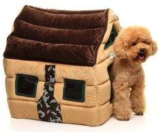 Super Soft Nice Brown Indoor Dog House      Check this out>>>>>>>   http://amzn.to/29C96jA