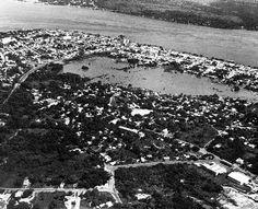Vista aérea de Ciudad Bolívar. (ARCHIVO EL NACIONAL)