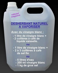 Faire son désherbant naturel pour le jardin – Christelle Cossa Make her weed killer for the garden – Christelle Cossa – # weedkiller Organic Gardening Tips, Vegetable Gardening, Aquaponics System, Organic Vegetables, Organic Plants, Garden Planning, Herb Garden, Compost, Container Gardening