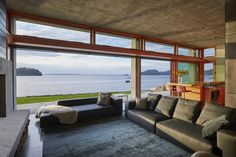 Cliffside dream home offers waterfront views of Bellingham Bay