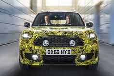 Ahead of the debut of the new 2017 MINI Countryman, MINI tease the new version of their biggest model with a new hybrid plug-in Countryman. Joint Venture, In China, Car Photos, Car Pictures, Frankfurt, New Mini Countryman, Read Newspaper, Cars Uk, Mini One