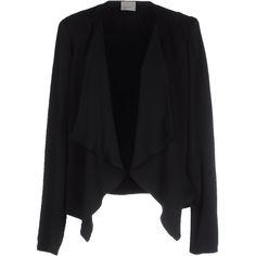 Vero Moda Cardigan ($39) ❤ liked on Polyvore featuring tops, cardigans, black, long sleeve cardigan, vero moda, lightweight cardigan, long sleeve tops and cardigan top