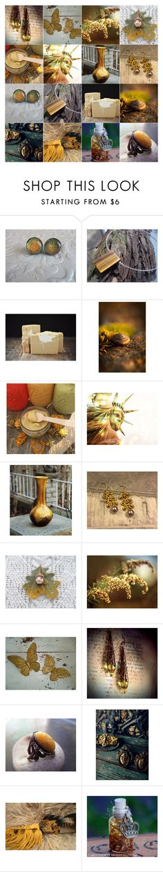 """Gold 'n' Green"" by andreadawn1 ❤ liked on Polyvore featuring Rituals"
