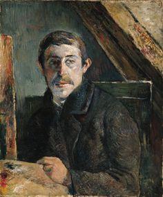 autoritratto con tavolozza gauguin - 1885