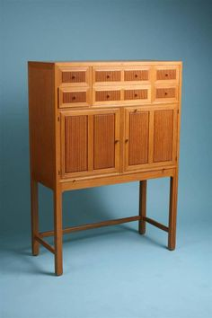 Cabinet Designed and Made by Hjalmar Jackson, Sweden