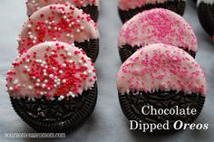 chocolate dipped oreo - Page 250 by yourhomebasedmom, via Flickr