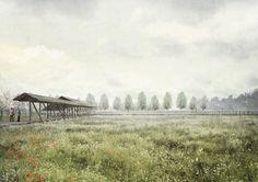 Productive Garden: An Endless Path for the Five Senses  Young Eun Choi, Juliane Myking Eide, Mercè Lorente Gras, David Kennedy, Niklas Lenander and Pedro Sjøblom Tavares.