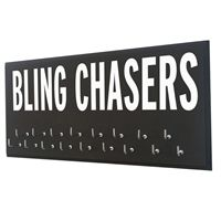 Bling chasers show off your medals - Use our running medal holder to display all your race medals. We offer a huge variety of medal hanger with running quotes for women and men. Our medal displays are the most acclaim on the web. Starting at$24.99 only.