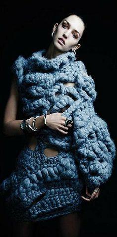 Modeconnect.com - Johan Ku knitwear ... Grandma's second sweater ... Oh Grandma ya shouldn't have ... noooo, I LOVE it!! But, ya realllllly SHOULDN'T have!!!!