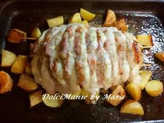 Pork Recipes With Sauce, Leftover Pork Recipes, Pulled Pork Recipes, Pork Loin, Sushi, Keto, Chicken, Baking, Stuffed Pork