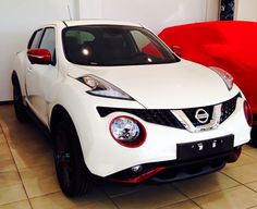 Juke White with color red 2014