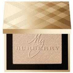 Burberry Gold Glow Fragranced Luminising Powder ($64) ❤ liked on Polyvore featuring beauty products, makeup, face makeup, face powder and burberry