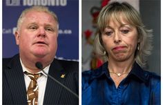 Photos: Rob Ford's wife and other women who stand by their men