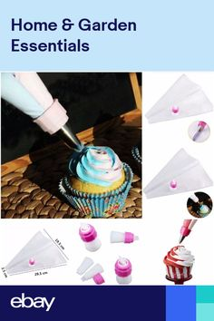 Wholesale 7 In 1 Double Colors Piping Bags Icing Pastry Bags Cake