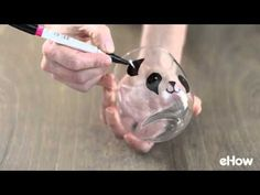Tutorial for making DIY panda glasses with a permanent marker and a free, downlo. Panda Birthday Party, Panda Party, Crafts For Kids To Make, Fun Crafts, Arts And Crafts, Just In Case, Just For You, Art Projects, Projects To Try
