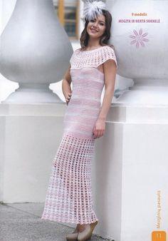Dress Crochet, photo diagram # 1