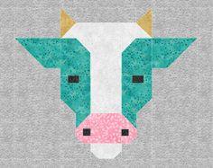 Patchwork quilt paper piecing link 69 New Ideas Paper Piecing Patterns, Patchwork Patterns, Quilt Block Patterns, Pattern Blocks, Quilt Blocks, Patchwork Quilting, Crazy Patchwork, Scrappy Quilts, Farm Animal Quilt