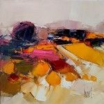 Hervé LENOUVEL, huiles sur toiles Abstract Landscape, Landscape Paintings, Abstract Art, Acrylics, Art Sketches, Art Ideas, Sculptures, Creativity, Inspire