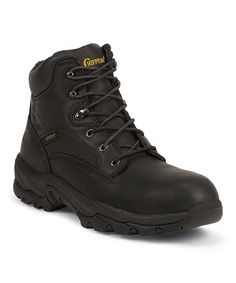 Black Waterproof Oiled 6'' Leather Boot by Chippewa #zulily #zulilyfinds