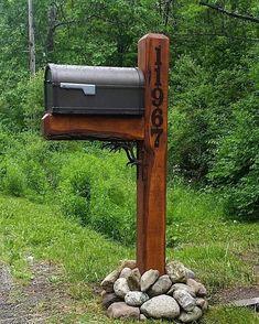 Vertical Metal House Number with 4 Numbers / Metal Address Sign / Address Numbers / Mailbox Sign - Vertical Metal House Number with 4 Numbers / Metal Address Sign / Address Numbers / Mailbox Sign -